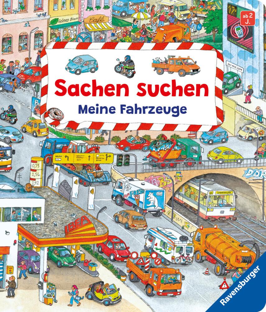 Sachen suchen: Meine Fahrzeuge als Buch von Susanne Gernhäuser