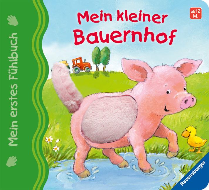 Mein erstes Fühlbuch: Mein kleiner Bauernhof als Buch von Sandra Grimm