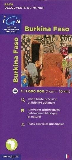 Burkina Faso 1 : 1 000 000 als Buch von