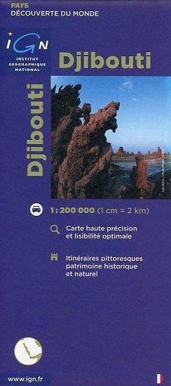 Djibouti 1 : 200 000 als Buch von