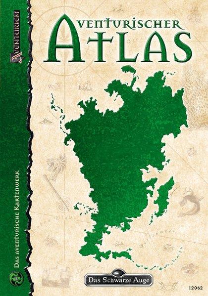 Das Schwarze Auge. Aventurien Atlas als Buch von