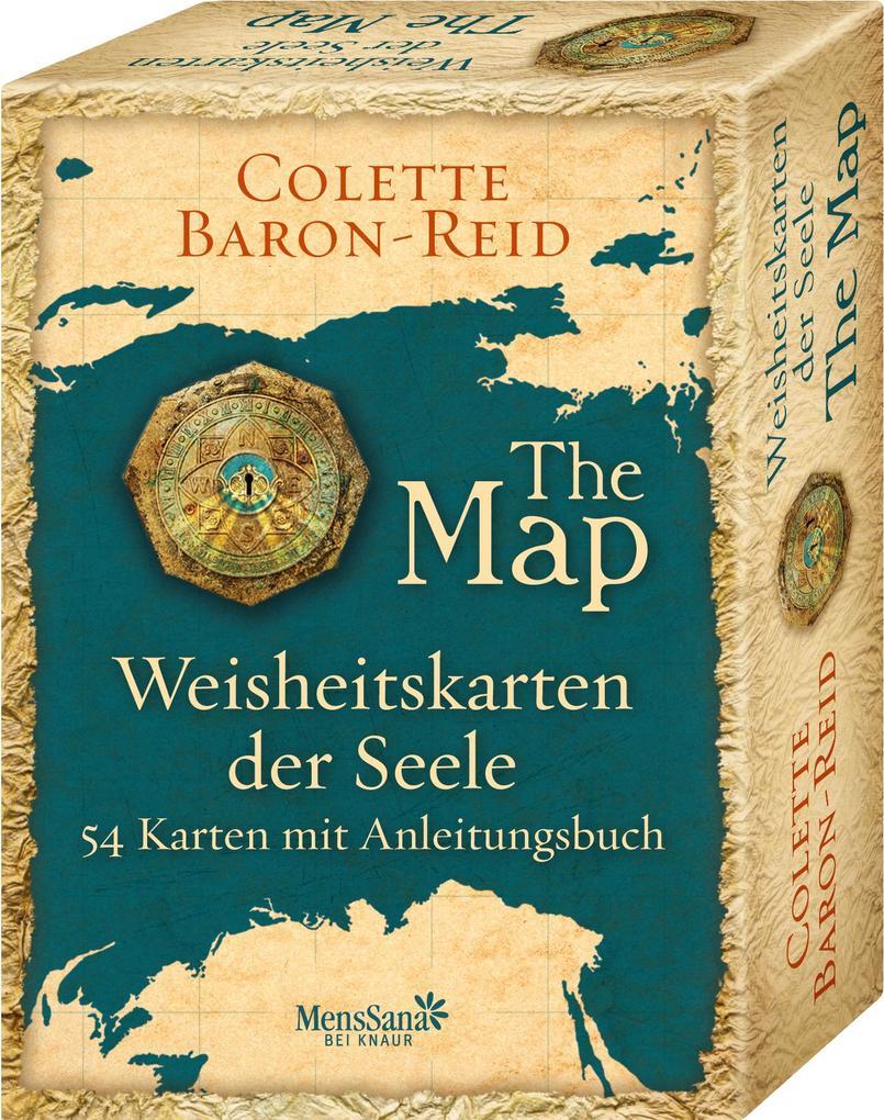 Weisheitskarten der Seele - The Map als Buch von Colette Baron-Reid