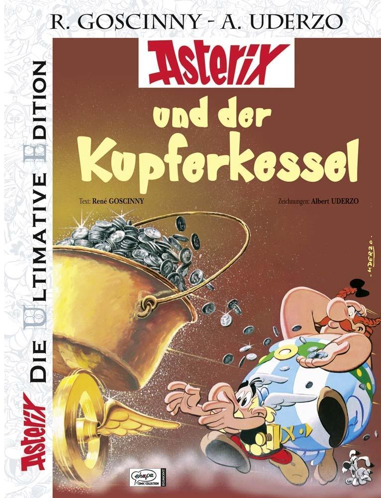 Die ultimative Asterix Edition 13 als Buch von René Goscinny, Albert Uderzo