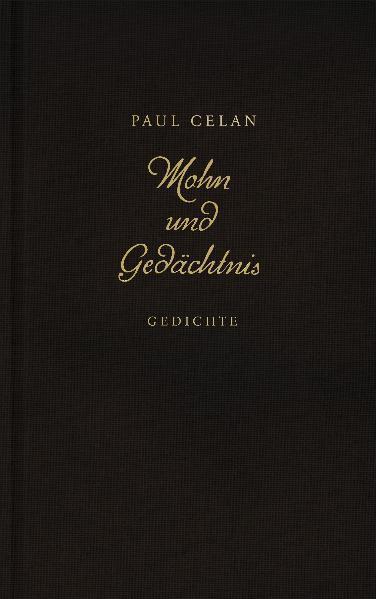 Mohn und Gedächtnis als Buch von Paul Celan