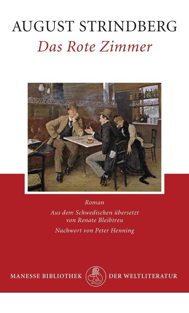 Das Rote Zimmer als Buch von August Strindberg, Peter Henning