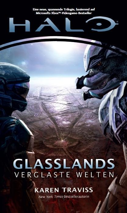 Halo Glasslands Trilogie 01. Glasslands als Buch von Karen Traviss