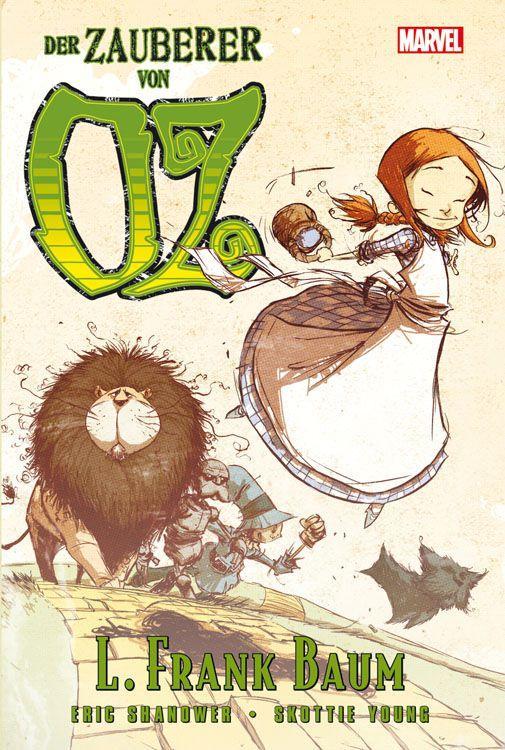 Der Zauberer von Oz 01 als Buch von Frank Baum, Eric Shanover, Scottie Young