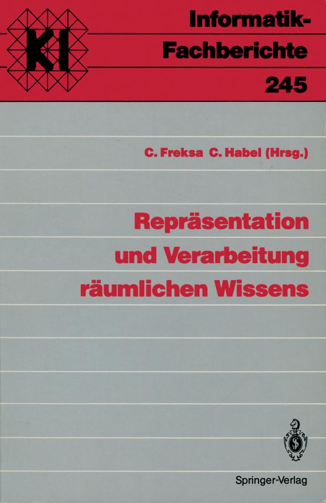 Repräsentation und Verarbeitung räumlichen Wiss...