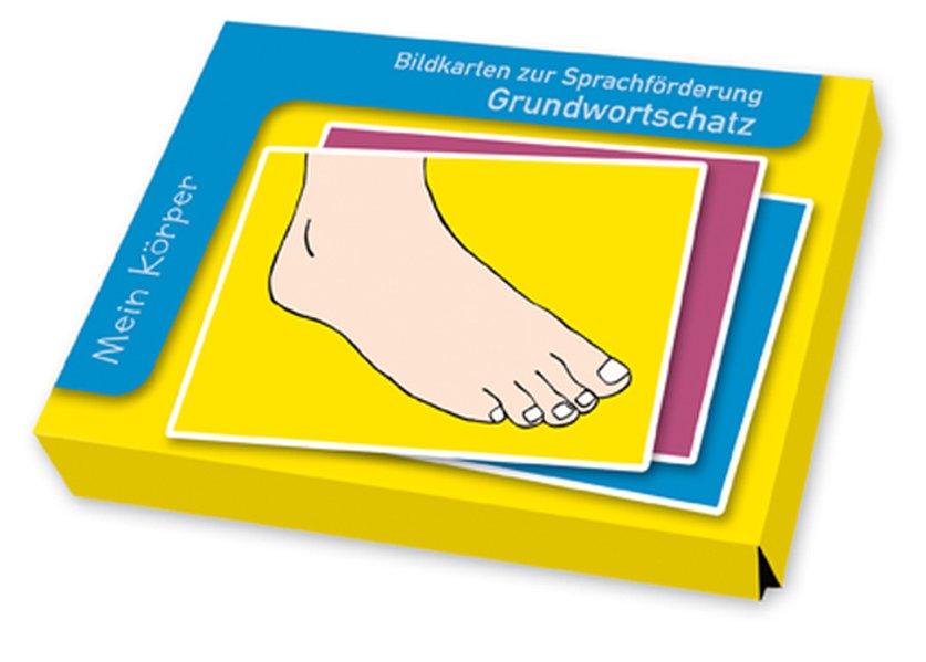 Bildkarten zur Sprachförderung: Grundwortschatz: Mein Körper als Buch von