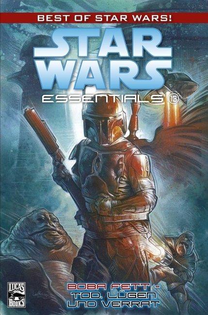 Star Wars Essentials 13 - Boba Fett - Tod, Lügen und Verrat als Buch von John Wagner, Cam Kennedy