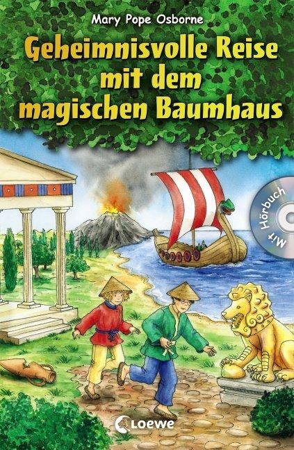 Geheimnisvolle Reise mit dem magischen Baumhaus als Buch von Mary Pope Osborne