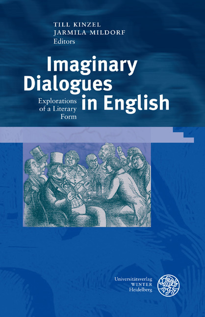 Imaginary Dialogues in English als Buch von