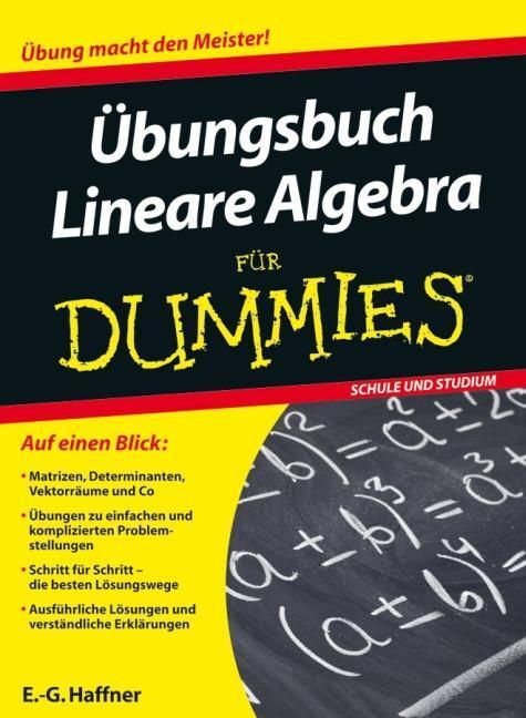 Übungsbuch Lineare Algebra für Dummies als Buch von E. -G. Haffner