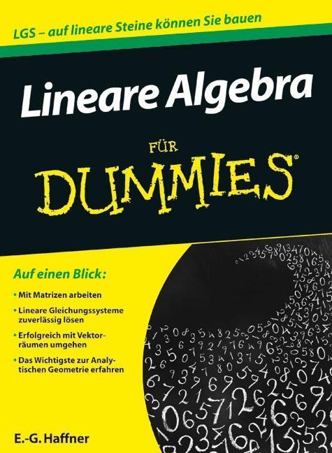 Lineare Algebra für Dummies als Buch von E. -G. Haffner