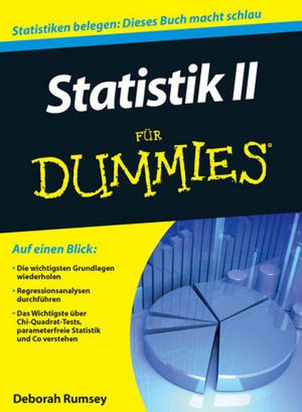 Statistik II für Dummies als Buch von Deborah Rumsey