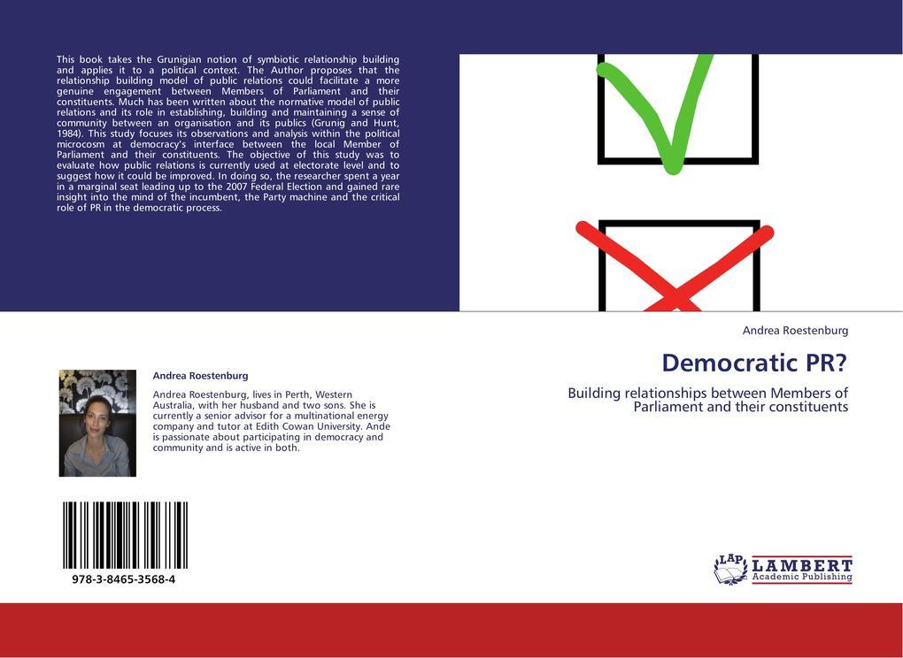 Democratic PR? als Buch von Andrea Roestenburg