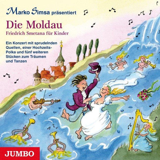 Marko Simsa präsentiert: Die Moldau als Hörbuch CD von Marko Simsa