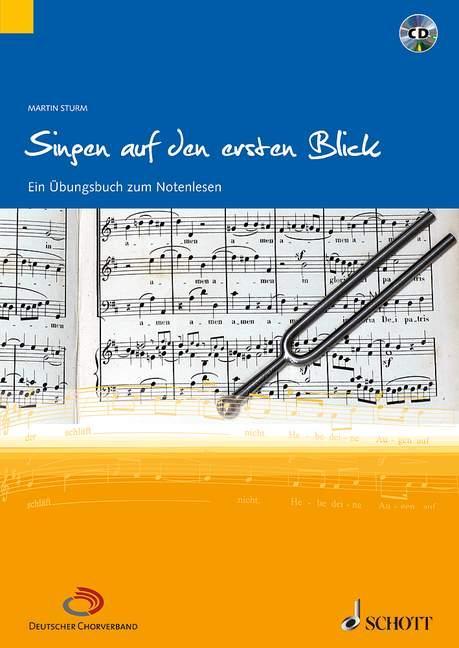 Singen auf den ersten Blick als Buch von Martin Sturm