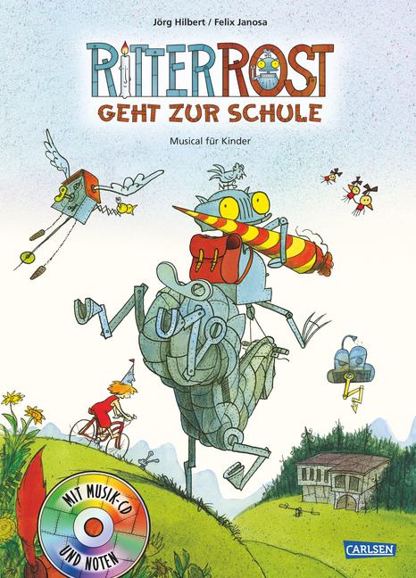 Ritter Rost geht zur Schule 8 als Buch von Jörg Hilbert, Felix Janosa