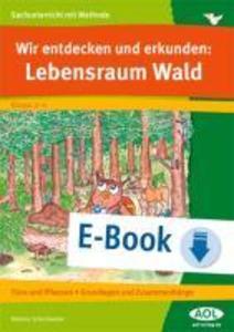 Wir entdecken und erkunden: Lebensraum Wald als eBook von Melanie Scheidweiler