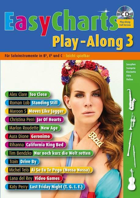 Easy Charts Play-Along 3. Spielbuch mit CD als Buch von Uwe Bye