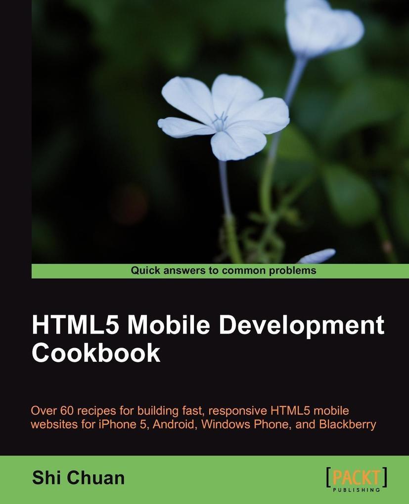Html5 Mobile Development Cookbook als Taschenbu...