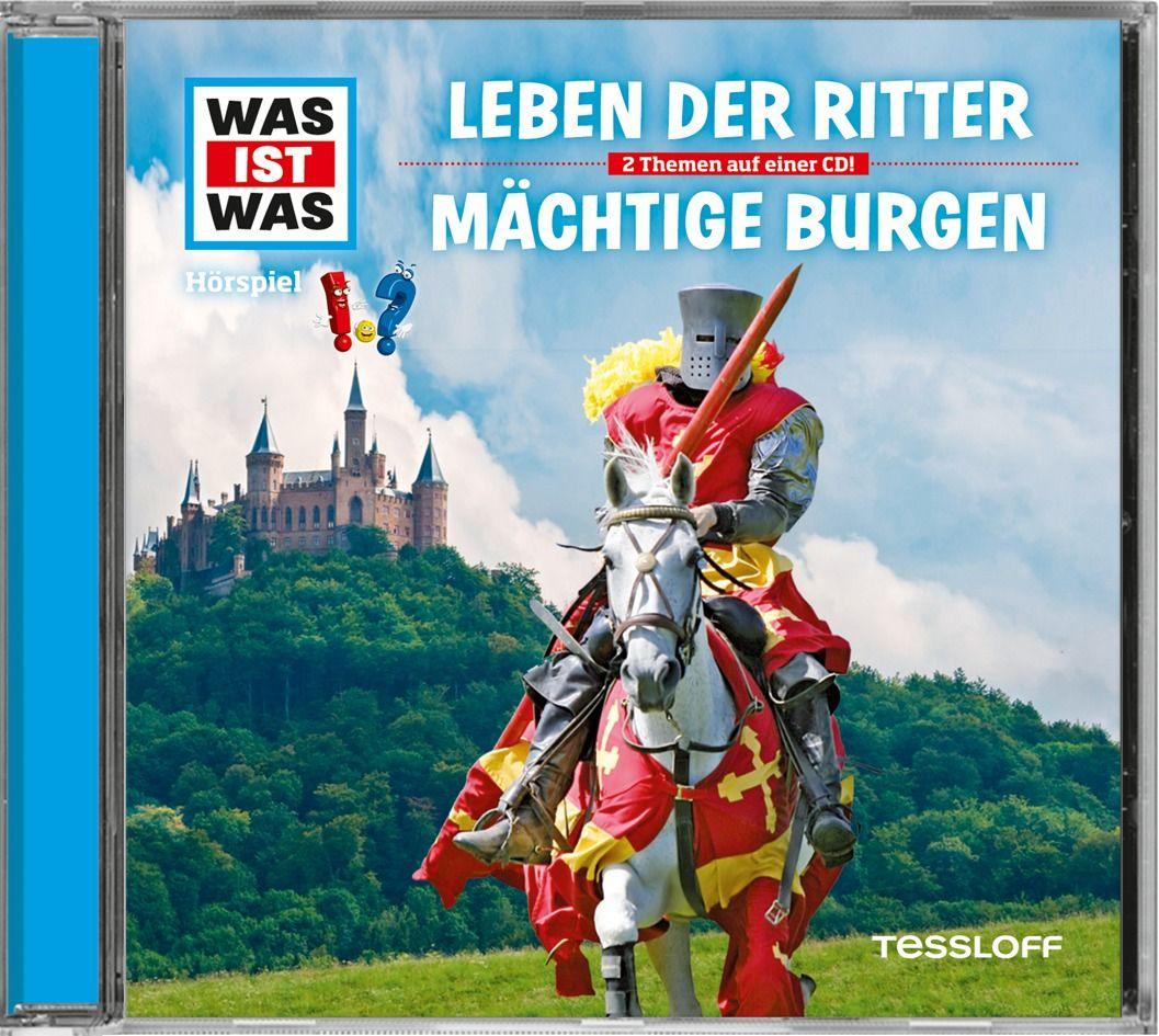Was ist was Hörspiel-CD: Ritter/ Burgen als Hörbuch CD von Manfred Baur