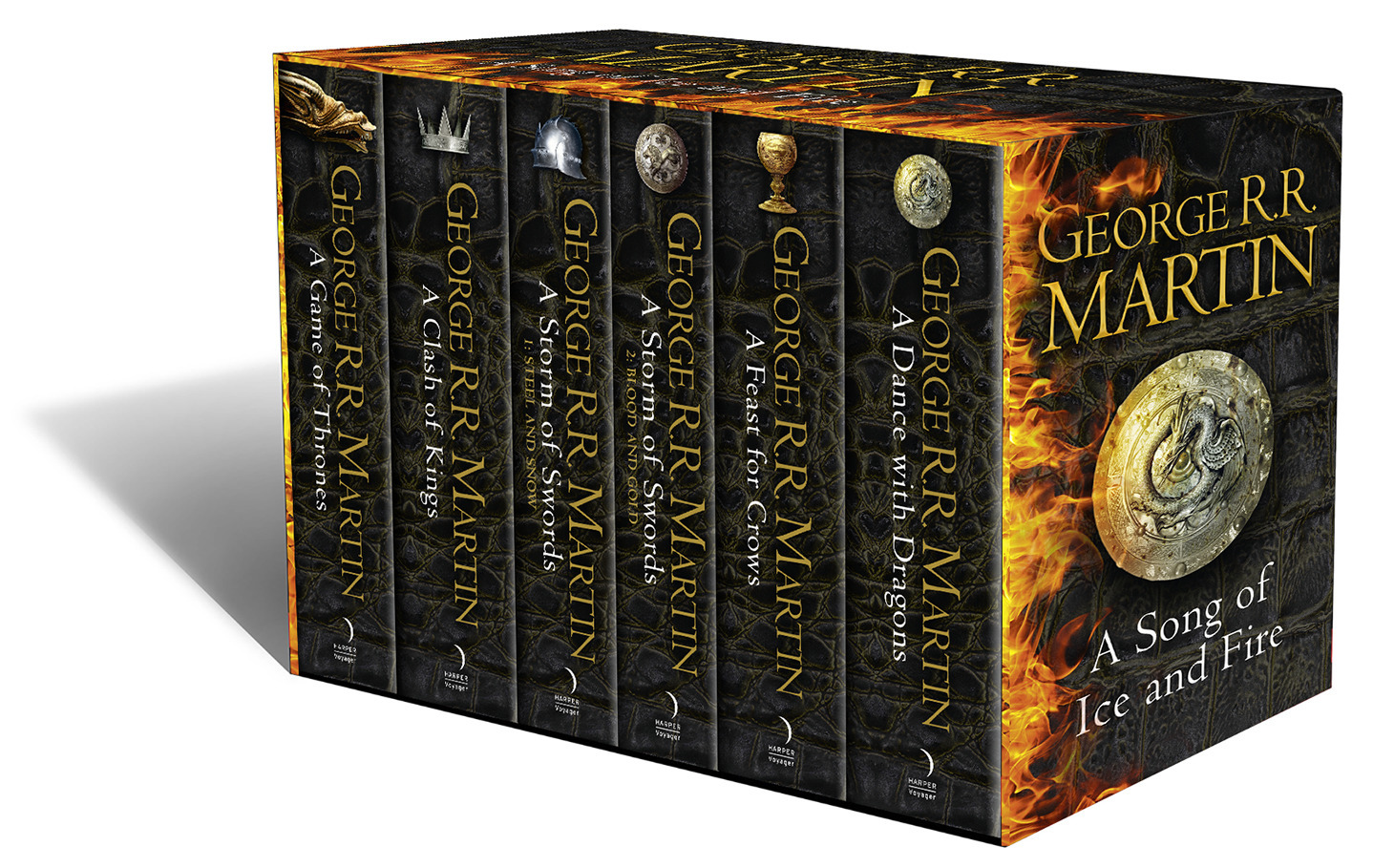 A Game of Thrones: The Story Continues. 6 Volumes Boxed Set als Taschenbuch von George R. R. Martin