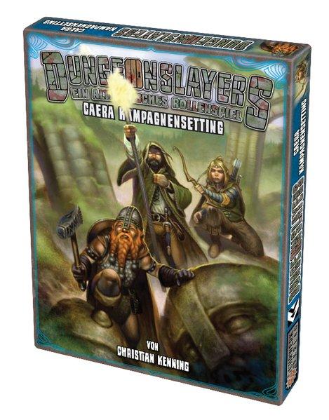 Dungeonslayers - Caera Kampagnensetting als Buch von Christian Kennig