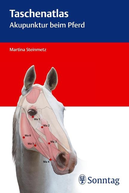Taschenatlas Akupunktur beim Pferd als Buch von Martina Steinmetz