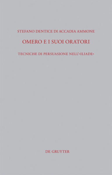 Omero e i suoi oratori als Buch von Stefano Dentice di Accadia Ammone
