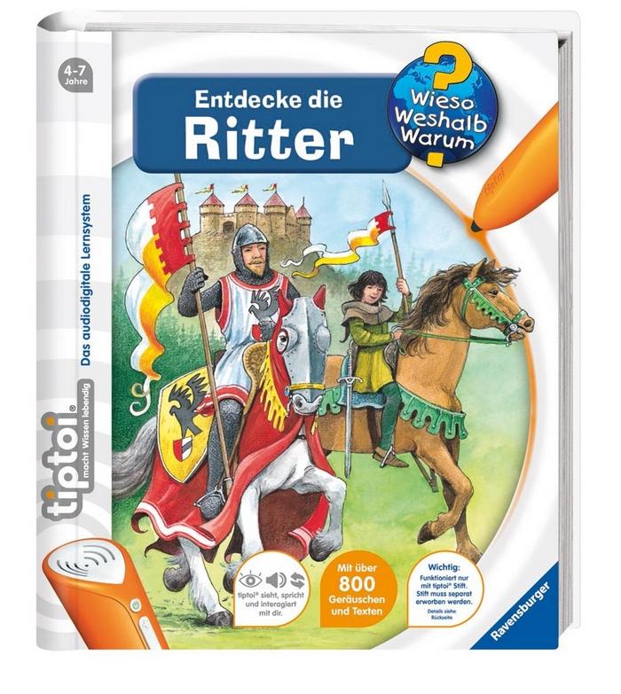 tiptoi® Entdecke die Ritter als Buch von Sabine Lipan