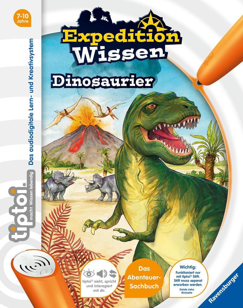 tiptoi® Expedition Wissen: Dinosaurier als Buch von Thilo