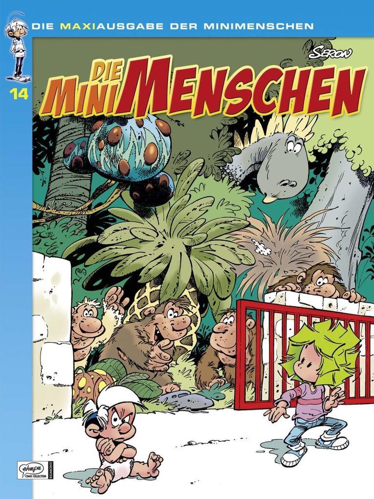 Die Minimenschen Maxiausgabe 14 als Buch von Pierre Seron