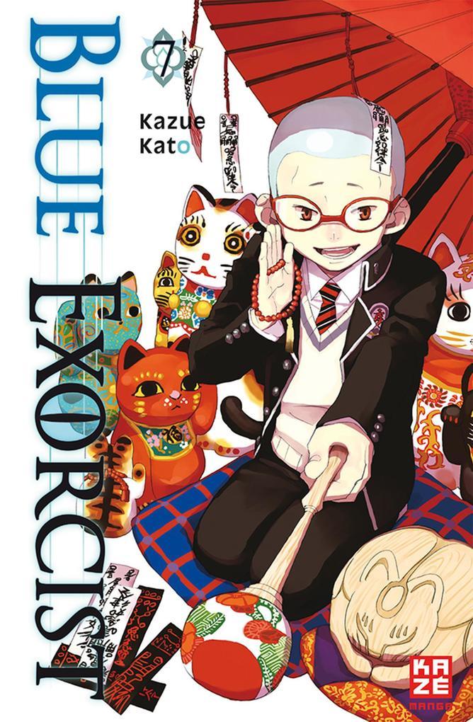 Blue Exorcist 07 als Taschenbuch von Kazue Kato