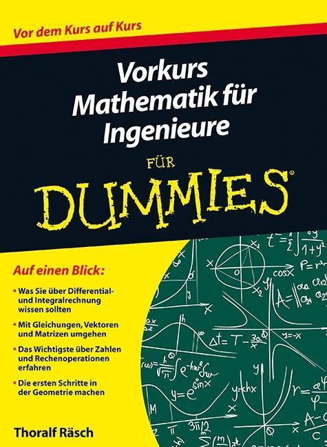 Vorkurs Mathematik für Ingenieure für Dummies als Buch von Thoralf Räsch