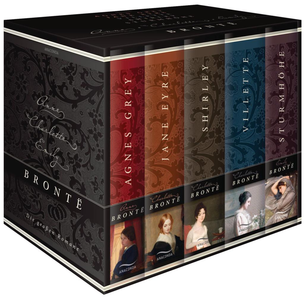 Brontë - Die großen Romane. Agnes Grey - Jane Eyre - Villette - Shirley - Sturmhöhe als Buch von Emily Brontë, Charlotte