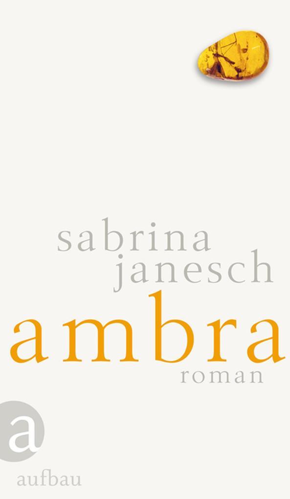 Ambra als eBook von Sabrina Janesch