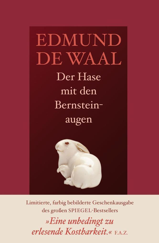 Der Hase mit den Bernsteinaugen als Buch von Edmund de Waal