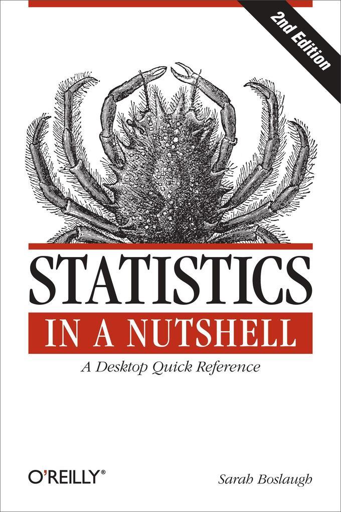 Statistics in a Nutshell als Buch von Sarah Boslaugh