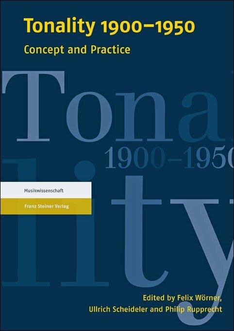 Tonality 1900-1950 als Buch von