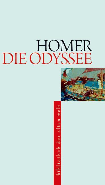 Odyssee als Buch von Homer