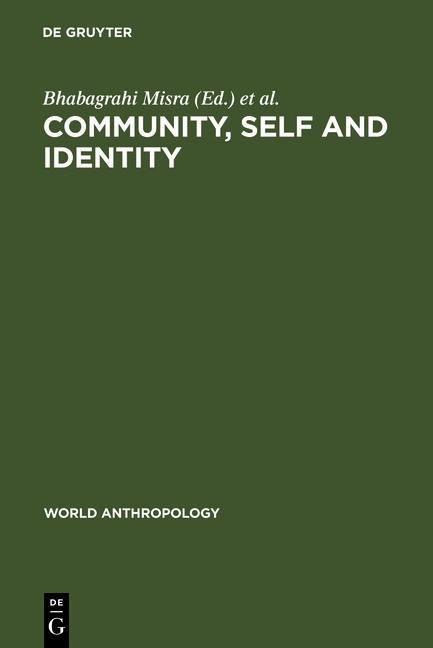 Community, Self and Identity als eBook von