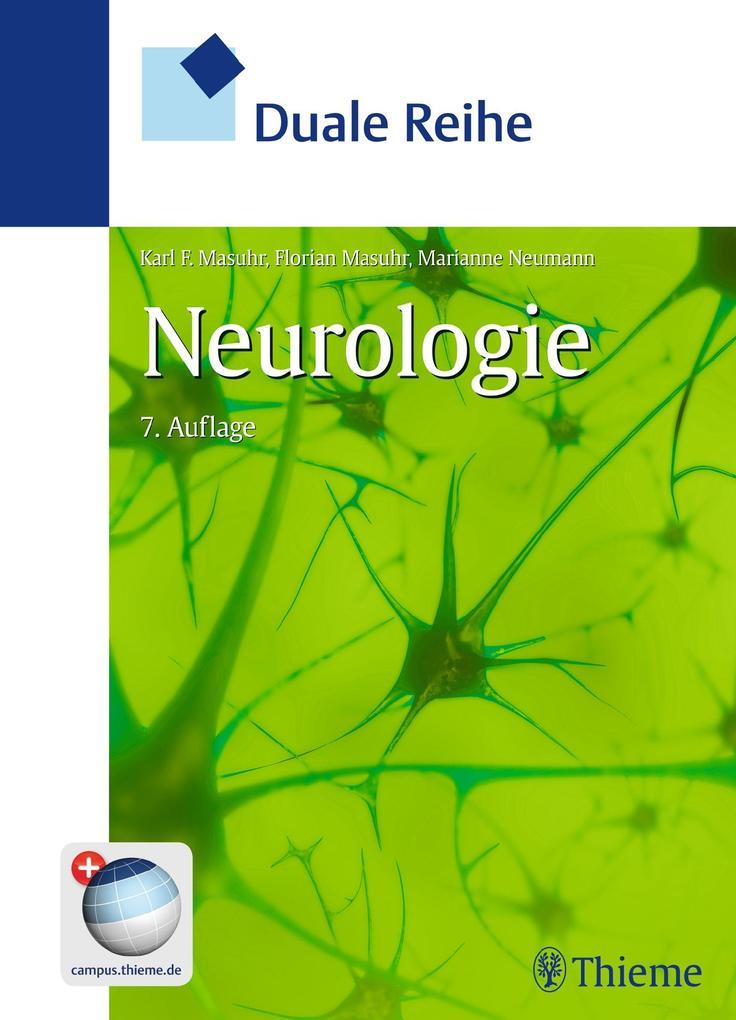 Duale Reihe Neurologie als Buch von Karl-Friedrich Masuhr, Florian Masuhr, Marianne Neumann