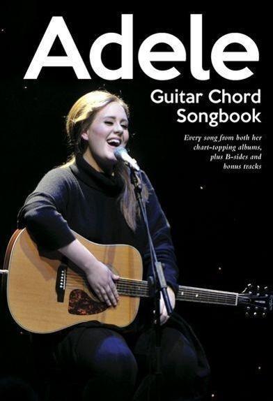 Adele Guitar Chord Songbook als Buch von