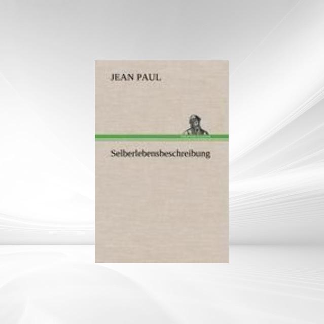 Selberlebensbeschreibung als Taschenbuch von