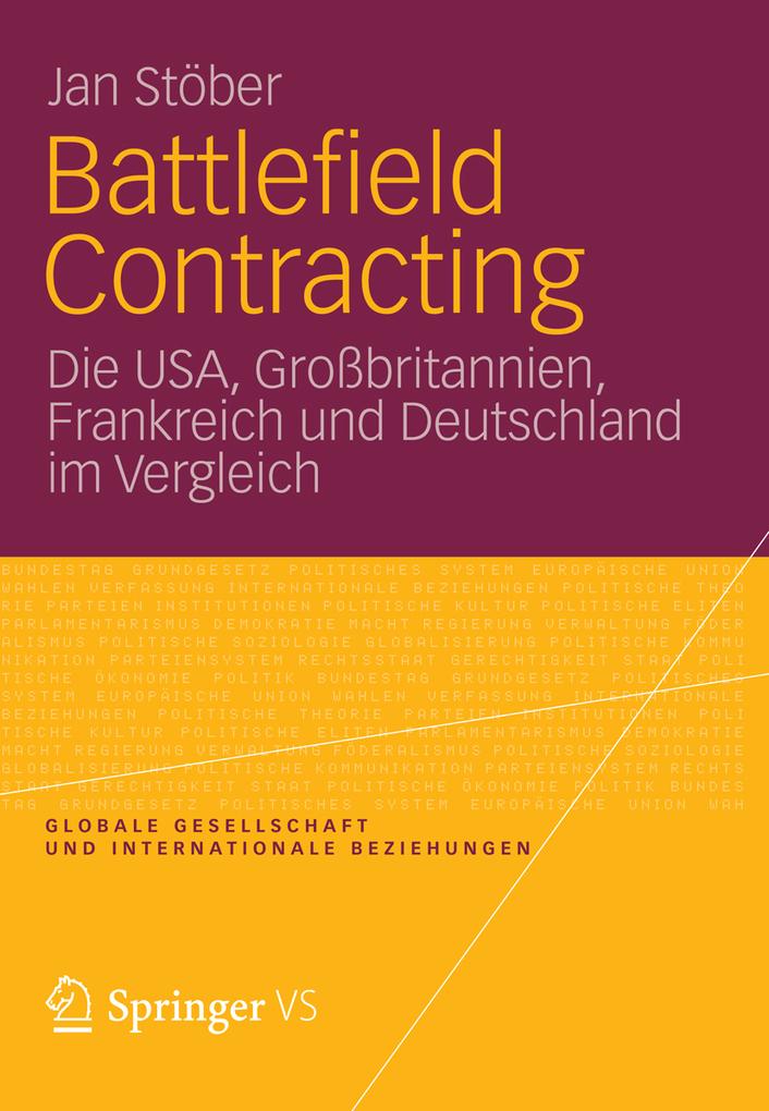 Battlefield Contracting als eBook von Jan Stöber