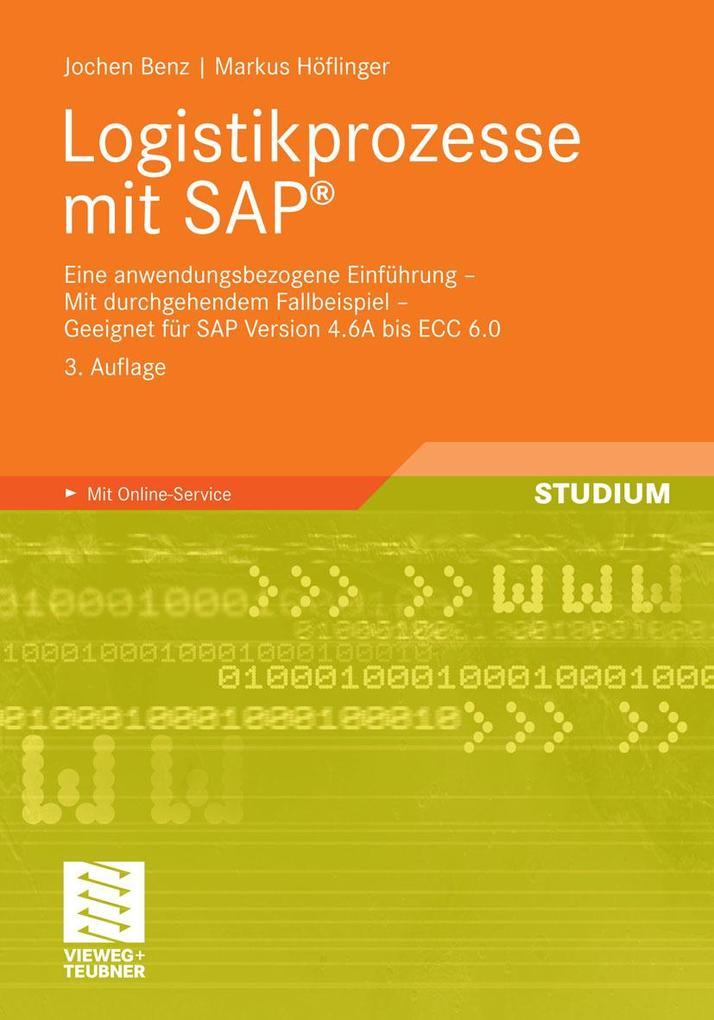 Logistikprozesse mit SAP als eBook von Jochen B...