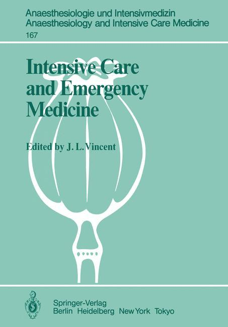 Intensive Care and Emergency Medicine als Buch von