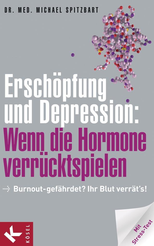 Erschöpfung und Depression: Wenn die Hormone verrücktspielen als eBook von Michael Spitzbart